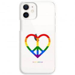 ETUI CLEAR NA TELEFON APPLE IPHONE 12 MINI LGBT-2020-1-103