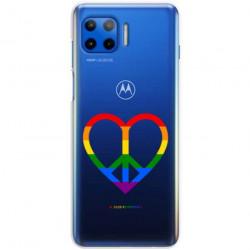 ETUI CLEAR NA TELEFON MOTOROLA MOTO G 5G PLUS LGBT-2020-1-103