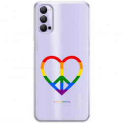 ETUI CLEAR NA TELEFON OPPO RENO 4 LGBT-2020-1-103