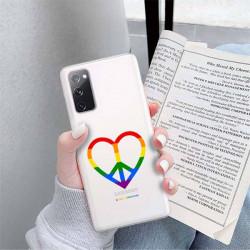 ETUI CLEAR NA TELEFON SAMSUNG GALAXY S20FE / S20 LITE LGBT-2020-1-103