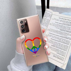 ETUI CLEAR NA TELEFON SAMSUNG GALAXY NOTE 20 ULTRA LGBT-2020-1-103