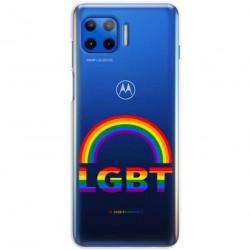 ETUI CLEAR NA TELEFON MOTOROLA MOTO G 5G PLUS LGBT-2020-1-104