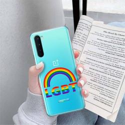 ETUI CLEAR NA TELEFON ONEPLUS NORD LGBT-2020-1-104