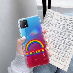 ETUI CLEAR NA TELEFON OPPO A72 5G LGBT-2020-1-104