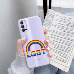 ETUI CLEAR NA TELEFON OPPO RENO 4 LGBT-2020-1-104
