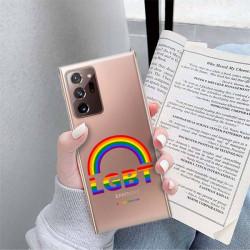 ETUI CLEAR NA TELEFON SAMSUNG GALAXY NOTE 20 ULTRA LGBT-2020-1-104