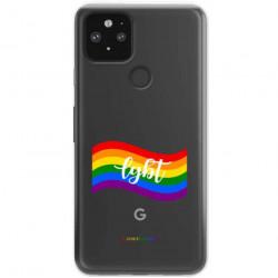 ETUI CLEAR NA TELEFON GOOGLE PIXEL 5 LGBT-2020-1-105