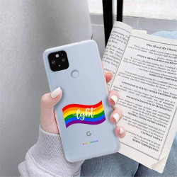ETUI CLEAR NA TELEFON GOOGLE PIXEL 5 XL LGBT-2020-1-105