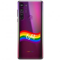 ETUI CLEAR NA TELEFON MOTOROLA EDGE LGBT-2020-1-105