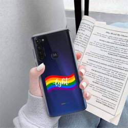 ETUI CLEAR NA TELEFON MOTOROLA MOTO G PRO LGBT-2020-1-105
