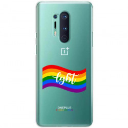 ETUI CLEAR NA TELEFON ONEPLUS 8 PRO LGBT-2020-1-105