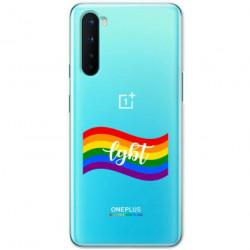 ETUI CLEAR NA TELEFON ONEPLUS NORD LGBT-2020-1-105