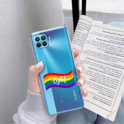 ETUI CLEAR NA TELEFON OPPO RENO 4 LITE LGBT-2020-1-105