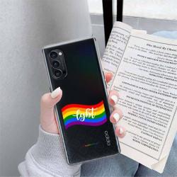 ETUI CLEAR NA TELEFON OPPO RENO 4 PRO 5G LGBT-2020-1-105