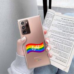 ETUI CLEAR NA TELEFON SAMSUNG GALAXY NOTE 20 ULTRA LGBT-2020-1-105
