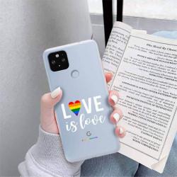 ETUI CLEAR NA TELEFON GOOGLE PIXEL 5 XL LGBT-2020-1-106