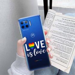 ETUI CLEAR NA TELEFON MOTOROLA MOTO G 5G PLUS LGBT-2020-1-106