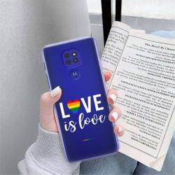 ETUI CLEAR NA TELEFON MOTOROLA MOTO G9 / G9 PLAY LGBT-2020-1-106