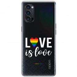 ETUI CLEAR NA TELEFON OPPO RENO 4 PRO 5G LGBT-2020-1-106