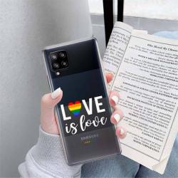 ETUI CLEAR NA TELEFON SAMSUNG GALAXY A42 5G LGBT-2020-1-106