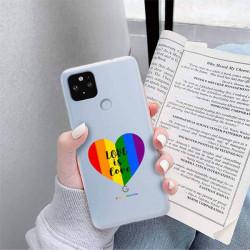 ETUI CLEAR NA TELEFON GOOGLE PIXEL 5 XL LGBT-2020-1-107