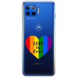 ETUI CLEAR NA TELEFON MOTOROLA MOTO G 5G PLUS LGBT-2020-1-107