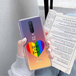 ETUI CLEAR NA TELEFON ONEPLUS 8 LGBT-2020-1-107