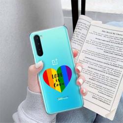 ETUI CLEAR NA TELEFON ONEPLUS NORD LGBT-2020-1-107