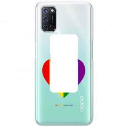 ETUI CLEAR NA TELEFON OPPO A52 / A72 LGBT-2020-1-107