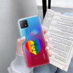 ETUI CLEAR NA TELEFON OPPO A72 5G LGBT-2020-1-107