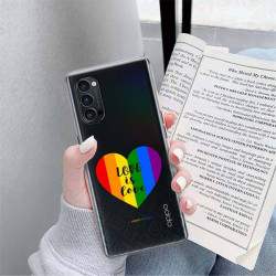 ETUI CLEAR NA TELEFON OPPO RENO 4 PRO 5G LGBT-2020-1-107