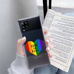 ETUI CLEAR NA TELEFON SAMSUNG GALAXY A42 5G LGBT-2020-1-107