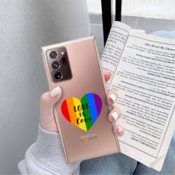 ETUI CLEAR NA TELEFON SAMSUNG GALAXY NOTE 20 ULTRA LGBT-2020-1-107