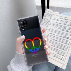 ETUI CLEAR NA TELEFON SAMSUNG GALAXY A42 5G LGBT-2020-1-103