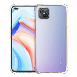 ETUI ANTI-SHOCK NA TELEFON OPPO 4Z 5G TRANSPARENT