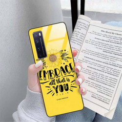 ETUI BLACK CASE GLASS NA TELEFON HUAWEI NOVA 7 PRO ST_SUNFLOWERS-2020-1-100
