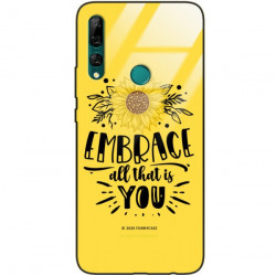 ETUI BLACK CASE GLASS NA TELEFON HUAWEI Y9 PRIME 2019 ST_SUNFLOWERS-2020-1-100