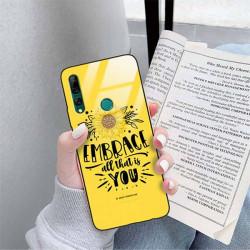 ETUI BLACK CASE GLASS NA TELEFON HUAWEI Y9 PRIME 2019 ST_SUNFLOWERS-2020-1-100