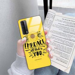 ETUI BLACK CASE GLASS NA TELEFON SAMSUNG GALAXY A90 5G ST_SUNFLOWERS-2020-1-100