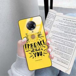 ETUI BLACK CASE GLASS NA TELEFON XIAOMI REDMI K30 PRO ST_SUNFLOWERS-2020-1-100