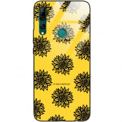 ETUI BLACK CASE GLASS NA TELEFON HUAWEI Y9 PRIME 2019 ST_SUNFLOWERS-2020-1-102