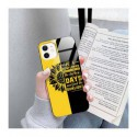 ETUI BLACK CASE GLASS NA TELEFON APPLE IPHONE 12 / 12 PRO ST_SUNFLOWERS-2020-1-103
