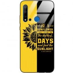 ETUI BLACK CASE GLASS NA TELEFON HUAWEI NOVA 5I ST_SUNFLOWERS-2020-1-103
