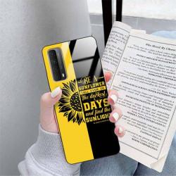 ETUI BLACK CASE GLASS NA TELEFON SAMSUNG GALAXY A90 5G ST_SUNFLOWERS-2020-1-103