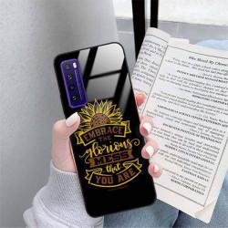 ETUI BLACK CASE GLASS NA TELEFON HUAWEI NOVA 7 ST_SUNFLOWERS-2020-1-105