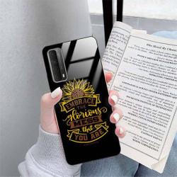 ETUI BLACK CASE GLASS NA TELEFON SAMSUNG GALAXY A90 5G ST_SUNFLOWERS-2020-1-105