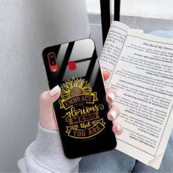ETUI BLACK CASE GLASS NA TELEFON SAMSUNG GALAXY A20 ST_SUNFLOWERS-2020-1-105