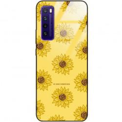 ETUI BLACK CASE GLASS NA TELEFON HUAWEI NOVA 7 ST_SUNFLOWERS-2020-1-106