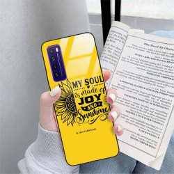 ETUI BLACK CASE GLASS NA TELEFON HUAWEI NOVA 7 ST_SUNFLOWERS-2020-1-107