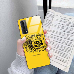 ETUI BLACK CASE GLASS NA TELEFON SAMSUNG GALAXY A90 5G ST_SUNFLOWERS-2020-1-107